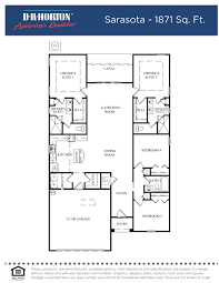 Florida Homes Floor Plans by Cambridge 3724 Village Green Orting Washington Dr Horton Dr Horton