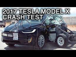 tesla model x crash test videos are in and it seems as safe as