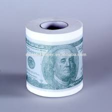 100 money toilet paper roll funny joke hundred dollar