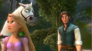 rapunzel flynn meet maximus scene tangled hd