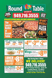Round Table Pizza Menu Prices by September 2013 Get Going Coffe Table Ideas