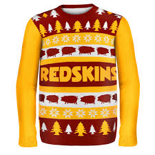 washington redskins nfl ugly sweater wordmark products