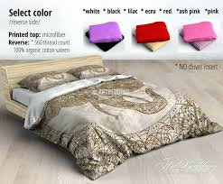 modern bohemian duvet covers designer girls boho bedding sets for