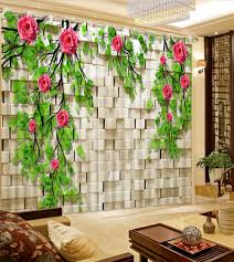online get cheap rose curtains aliexpress com alibaba group