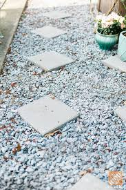 home depot decorative rock this renter s backyard makeover took only two weekends