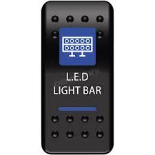Led Light Bar For Dirt Bike by Moose Dash Mount Led Lightbar Rocker Switch 0616 0328 Atv Dirt
