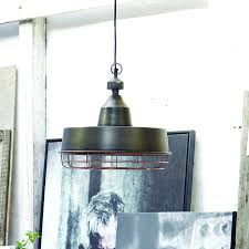 Metal Pendant Lights Bugsy Industrial Tarnished Metal Pendant Light