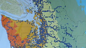 Washington State Earthquake Map by Massive Drill For Washington U0027s U0027mega Quake U0027 Starts Tuesday King5 Com