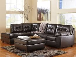 chocolate sectional sofa small sectional or chocolate bonded leather furniture stores chicago