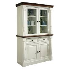 home styles monarch china cabinet white u0026 oak hayneedle