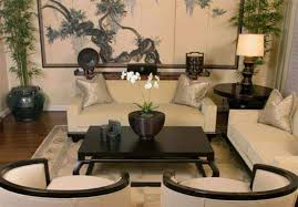 japanese living room with wall and seating and wooden