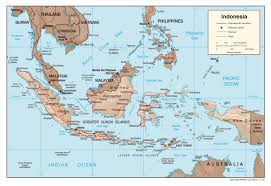 Australian Map Of The World by Maps Of Indonesia Detailed Map Of Indonesia In English Tourist