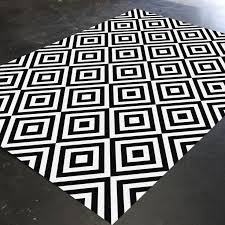 Checkered Area Rug Black And White Best 25 Black Rug Ideas On Pinterest Country Rugs Black White
