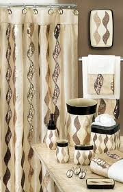 Seashell Bathroom Decor Ideas by Curtain Elegant Bathroom Decorating Ideas With Bathroom Shower