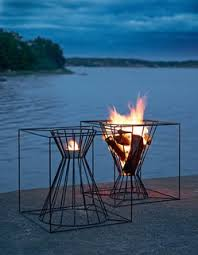 Modern Fire Pits by Gather Around These 7 Modern Fire Pit Designs Dwell