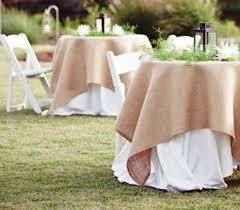 burlap table linens wholesale square burlap table runner 60 x 60 wedding runner by madeinburlap