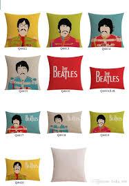 new movie cartoon beatles printing funny cotton u0026linen sofa cushion