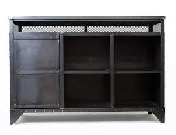 custom made metal storage cabinets custom industrial media cabinet hostess stand kitchen island by