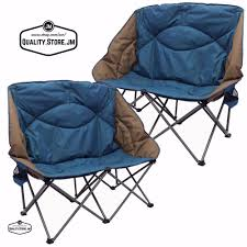 Campimg Chairs Double Camping Chair Camp Set Folding Loveseat For And Kids