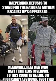 Kaepernick Memes - the irony of using ableist memes to shame kaepernick crutches spice