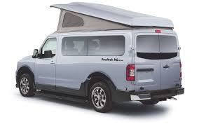 nissan commercial van nissan nv based n6 active by roadtrek big family vehicles