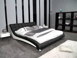 georgia modern bed frame king size white upholstery new house