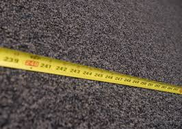 how to measure for carpet properly