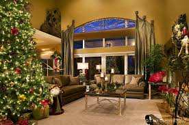 Christmas Decorated Homes Inside by Living Room Christmas Decoration Photo Luxury Inside Door