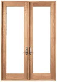 Prehung French Door - wood double french doors 1 1 prehung