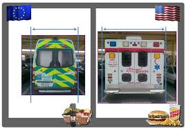 Ambulance Meme - the main difference between europe and usa ambulance width the