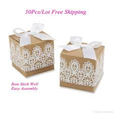 wedding gift boxes cheapest wedding gift box of rustic and lace favor box for wedding