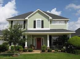 green home design ideas light green exterior house paint decoration architectural home