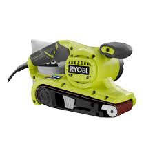 Wood Floor Sander Rental Home Depot by Ryobi 3 In X 18 In Portable Belt Sander Be319 The Home Depot