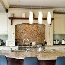 excellent l shape cream color wooden kitchen cabinets featuring
