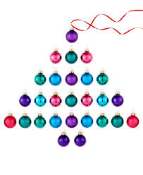 set of 27 glass mini tone ornaments