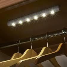 Wireless Led Strip Lights by Auraglow Wireless Pir Motion Sensor 6 Led Strip Light Auraglow