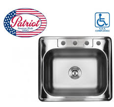 Kitchen Sink Top by 33 Inch Stainless Steel Top Mount Drop In Single Bowl Kitchen Sink