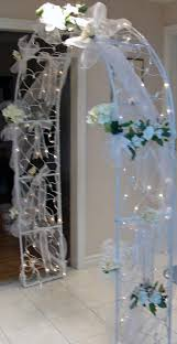 wedding arches with lights idea to decorate the arch ideas arch indoor