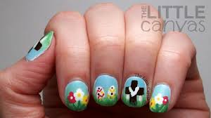Easter Nail Designs Happy Easter The Little Canvas