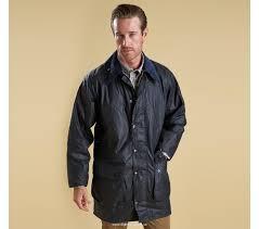 fashion barbour international fog parka waxed jacket black