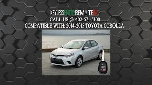 best car battery for toyota corolla how to replace toyota corolla key fob battery 2014 2015