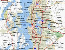 seattle map usa maps of dallas seattle map