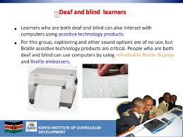 Assistive Devices For Blind Ict Technology For Special Needs Pupils Assistive Technology