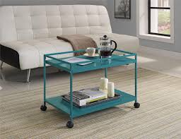 Rolling Coffee Table Dorel Home Furnishings Marshall 2 Shelf Rolling Coffee Table Cart