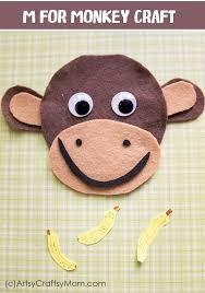Paper Plate Monkey Craft - kindergarten crafts activities archives artsy craftsy