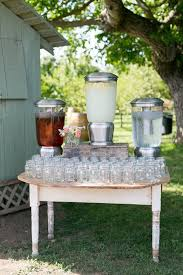 Casual Wedding Ideas Backyard Best 25 Drink Display Ideas On Pinterest Southern Chic Weddings