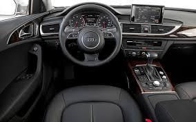 Audi A6 1999 Interior 2012 Audi A6 3 0 Tfsi Quattro Sedan Editors U0027 Notebook