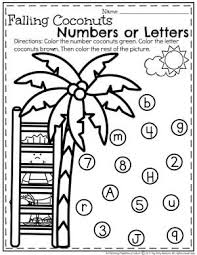 summer preschool worksheets letter worksheets preschool