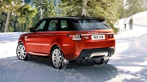 red range rover 2014 range rover sport chile red in the snow rear hd wallpaper 34