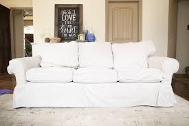 pottery barn basic sofa slipcover does the ikea ektorp slipcover fit pottery barn basic